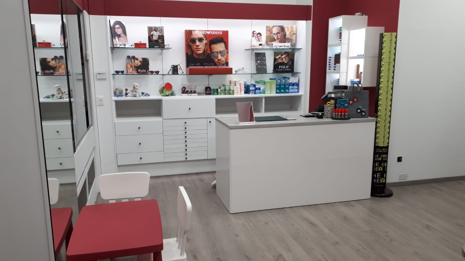 bancone negozio senago